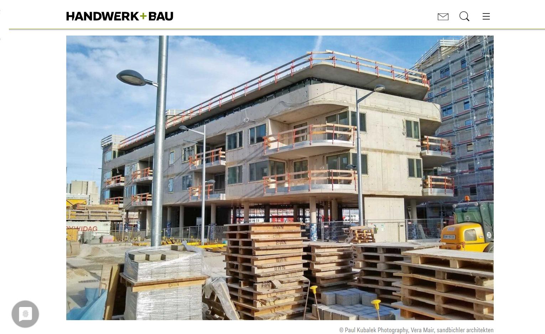 Grüner ;Markt in Bau
