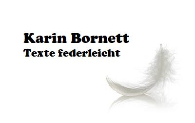 Karin Bornett – Texte federleicht